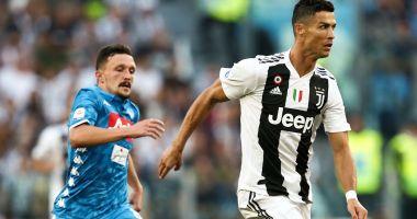 Juventus Torino câştigă pe terenul celor de la Napoli