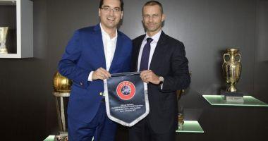 Răzvan Burleanu, funcţie importantă la UEFA