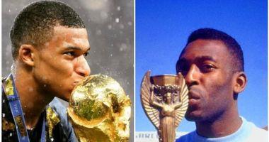 Legendarul Pele, spitalizat după o întâlnire cu Kylian Mbappe