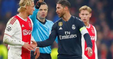 """Sergio Ramos a fost suspendat de UEFA, după ce a recunoscut că a """"trişat"""""""
