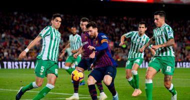 Lionel Messi a făcut spectacol, în deplasare, la Betis Sevilla