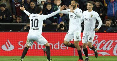 Real Madrid pierde la Valencia. Barca rămâne pe prima poziţie