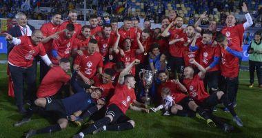 FC Viitorul, câştigătoarea Cupei României. Finala, decisă în prelungiri