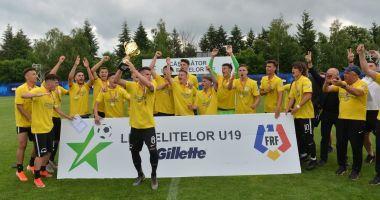 Din nou campioană U19! FC Viitorul va juca în Youth League