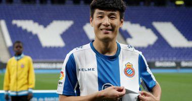 Wu Lei, primul chinez marcator în campionatul Spaniei