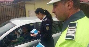 Şoferi, fiţi cu ochii-n patru! POLIŢIA RUTIERĂ A ÎMPÂNZIT STRĂZILE DIN CONSTANŢA