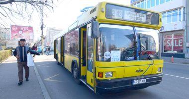Traseu deviat pentru autobuzele de pe linia 44, vineri şi sâmbătă