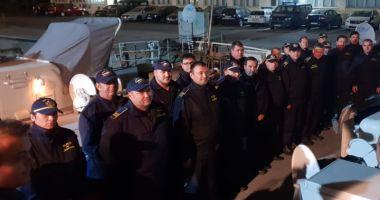 Misiune în Marea Egee. Poliţişti de frontieră, la operaţiunea