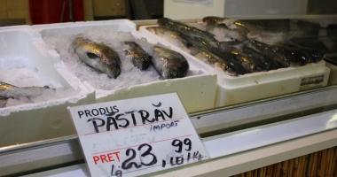 Pieţele din Constanţa, invadate de peşte de import