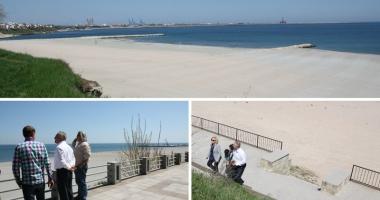 Foto : �nving�tori �n b�t�lia cu marea! Cum vor ar�ta plajele litoralului rom�nesc