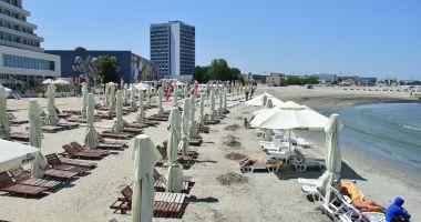 Plajele din Mamaia și Năvodari, verificate cu drona.