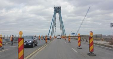 Podul Agigea, testul de stres pentru sudul litoralului. Nici închis pentru reabilitare,  nici complet deschis pentru turişti!