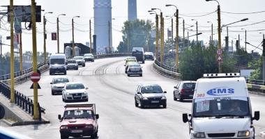 A început modernizarea podului de la Butelii. Cum se circulă în această perioadă