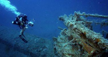 Turism subacvatic la Constanţa. Oaspeţii,  îmbiaţi să facă scufundări la navele din adâncurile Mării Negre