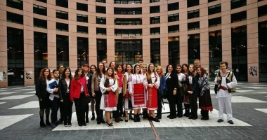 Delegaţia Colegiului Pedagogic, în vizită la Parlamentul European