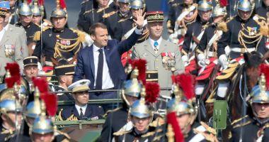 Franţa a marcat Ziua Căderii Bastiliei cu o paradă pe Champs Elysees