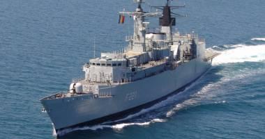 Fregata Regina Maria, misiune cu americanii în Marea Neagră