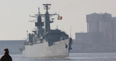 Fregata Regina Maria soseşte din misiunea NATO