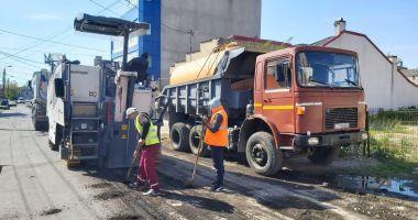 Lucrările de modernizare a carosabilului se extind în Constanța