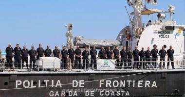 Frontierele Europei  din Marea Egee  vor fi asigurate  de o altă navă  a Gărzii de Coastă