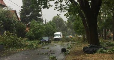 """Cod Roșu de """"vânt puternic, cu aspect tornadic"""" în Ialomița și Călărași"""