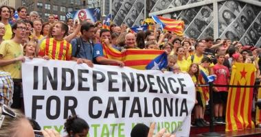 Garda Civilă a confiscat materiale de propagandă a referendumului din Catalonia