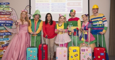 Gaşca Zurli invită copiii  la cel mai distractiv spectacol al verii