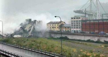 Bilanţul celor decedaţi în tragedia de la Genova crește