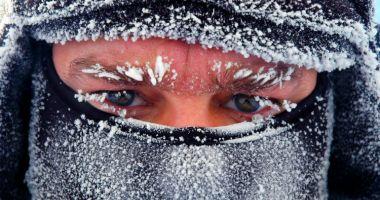 Ger în toată țara, cu temperaturi de până la -20 de grade Celsius