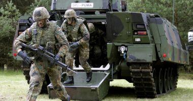 Germania şi-a majorat semnificativ bugetul apărării