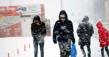 Record de temperaturi scăzute, pentru această perioadă, la Constanţa