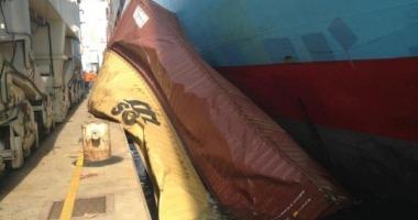 """""""Gerner Maersk"""" a pierdut cinci containere în portul Koper"""