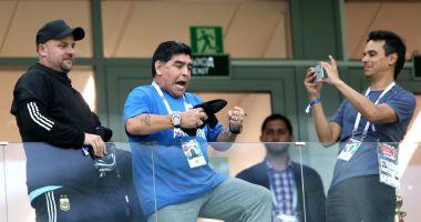 VIDEO. Maradona a comis-o din nou. A fost prins la volan atât de beat, încât nu mai ştia să vorbească