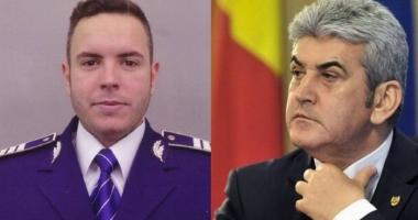 """Mama poliţistului Bogdan Gigină: """"Nevinovat, domnule Oprea, este copilul meu care a murit pe o şosea plină de apă într-o baltă de sânge"""""""