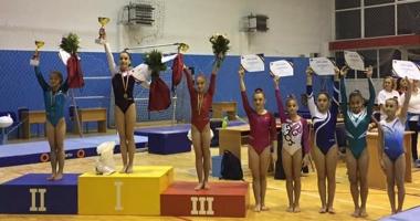 Gimnastă de la CS Farul, multiplă medaliată la Naţionalele de junioare