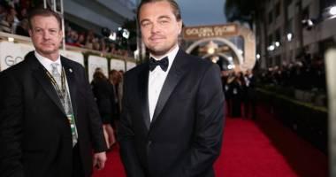 VIDEO. DiCaprio şi Lady Gaga, moment amuzant la gala Globurilor de Aur