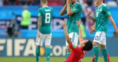 RUȘINE MONDIALĂ: Germania pierde și cu Coreea de Sud și termină grupa pe ultimul loc!