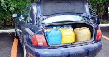 Cum se fură motorina din rezervoarele TIR-urilor, pe șoselele din Constanța