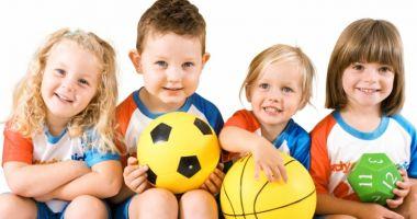 Finanţarea pentru grădiniţele cu profil sportiv va începe din acest an