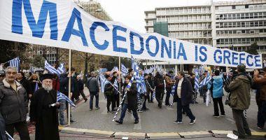 Grecia: Protest la Atena împotriva folosirii numelui de Macedonia de către FYROM