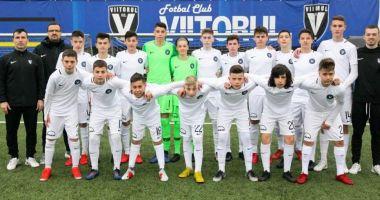 Grupa U15  a Viitorului  va lupta pentru medaliile naţionale