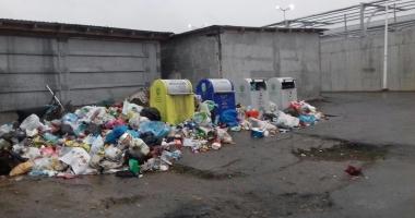 Polaris a sistat ridicarea gunoaielor în unele zone din Mangalia