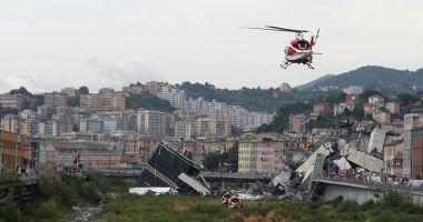 Guvernul italian decretează stare  de urgenţă pentru 12 luni, la Genova