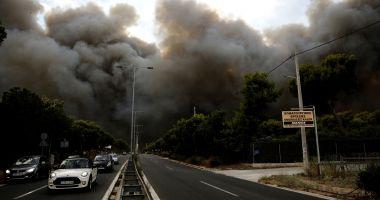AUTORITĂȚILE DIN GRECIA AU STABILIT CAUZA INCENDIILOR DEVASTATOARE