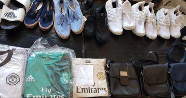 Haine contrafăcute, confiscate în Portul Constanţa Sud Agigea