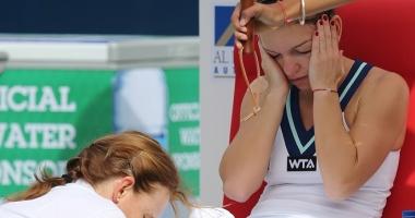 Simona Halep, cu moralul la pământ. Şanse mici să joace la Roland Garros