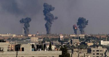 Rachete lansate din Fâşia Gaza înspre Israel. Mii de palestinieni îşi părăsesc casele