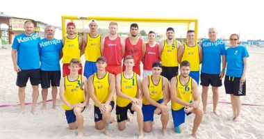 Avem naţională de beach-handball! Tricolorii lui Aihan Omer, pregătiri la Costineşti