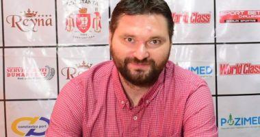 Ionuţ Stănescu, cel mai bun conducător de club