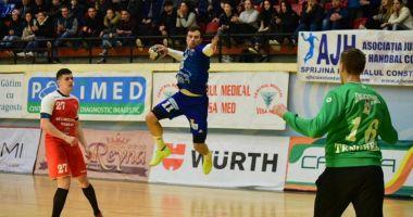 Înfrângere pentru HC Dobrogea Sud Constanța!